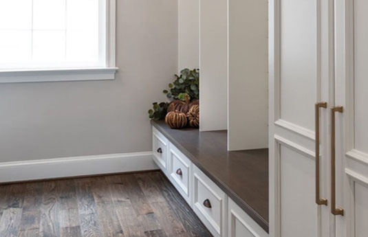 doors and drawers featuring Atlas Homewares pulls