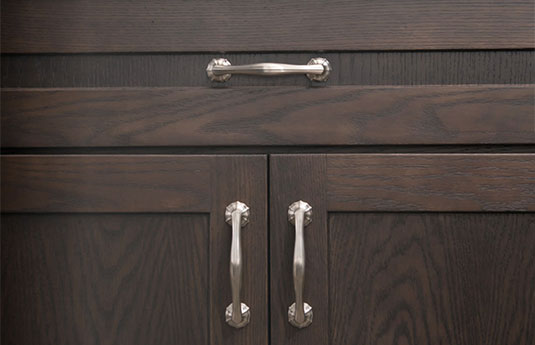 drawer and cabinet with Belwith-Keeler pulls