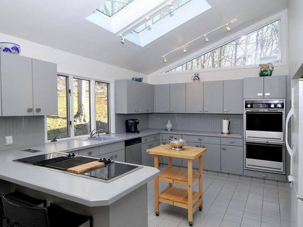 Kingspan Skylights ina modern kitchen