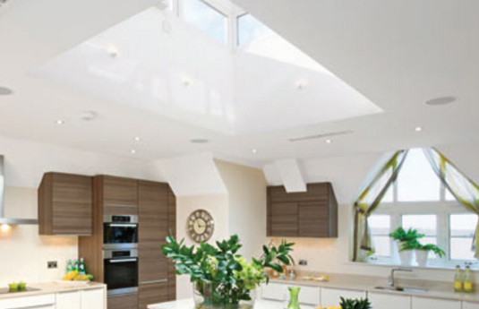 Kinspan skylight in a home