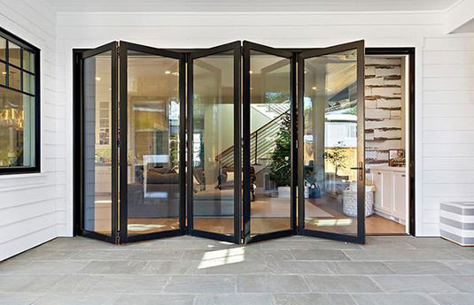 AG Milworks glass door