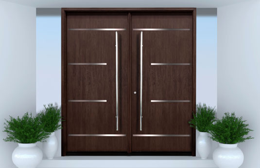 Modern door by Escon Doors