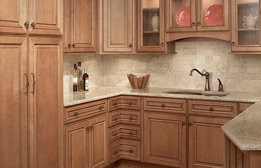 kitchen featuring knobs and pulls from Top Knob