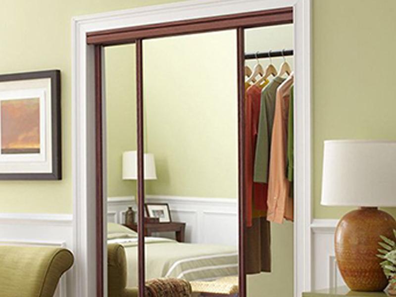 CW mirror closet door