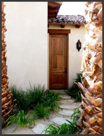custom door by Handcrafted Millworks